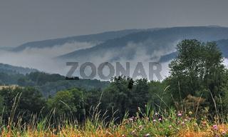 Odenwaldlandschaft bei Rothenberg
