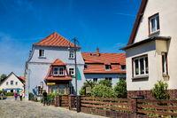 Lübbenau, Deutschland - 23.05.2019 - idylle in der altstadt
