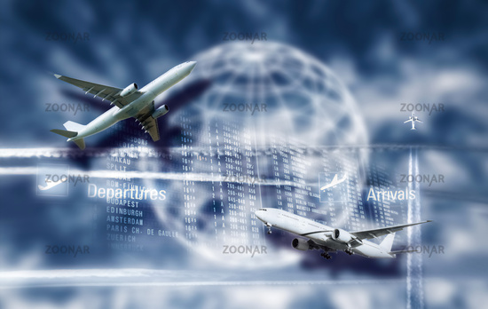 Air traffic and globalisation
