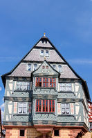 Half-timbered house in the old town of Miltenberg in Lower Franconia, Bavaria