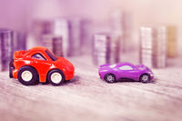 Concept cars among coins