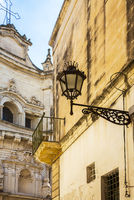 At the Church of San Matteo on Via dei Perroni Lecce Apulia Italy