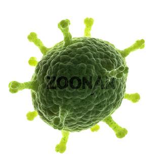 3d rendered medical illustration - conceptual virus