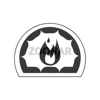 Hearth Icon Vector