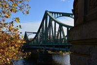 Bridge Glienicker Bruecke in Autumn, Potsdam / Berlin