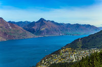 The lake Wakatipu