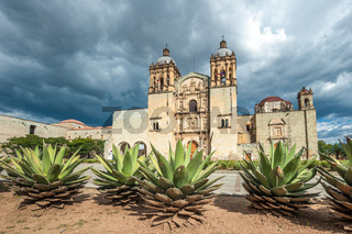 Church of Santo Domingo de Guzman in Oaxaca, Mexico