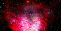 Ultra Deep Field. Elements of this image furnished by NASA
