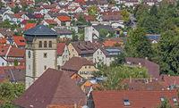 Stetten im Remstal with church St. Veit