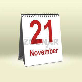 November 21th   21.November