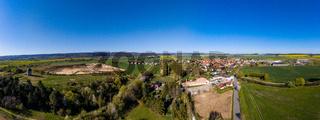 Luftbild Warnstedt landkreis Harz