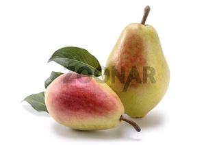 ripe pear fruits