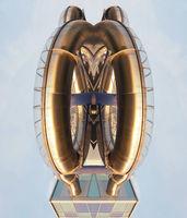 Mirrored water slide