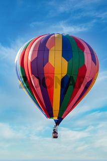 Balloon Ascending into the Sky