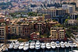 Monte Carlo bay in Monaco