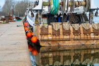 Rear of a fishing boat