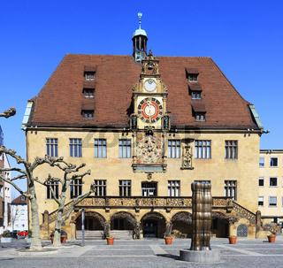 The Town Hall of Heilbronn, Germany