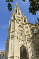 Buen Pastor Cathedral in the city of San Sebastian, Basque Country, Spain.