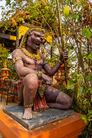 Wat Phra That Doi Phra Chan in Mea Tha District
