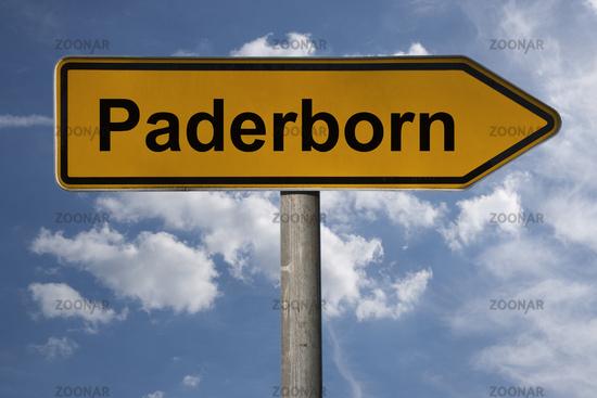 Wegweiser Paderborn | signpost Paderborn