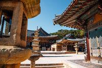 Tongdosa temple Unesco world heritage in Yangsan, Korea