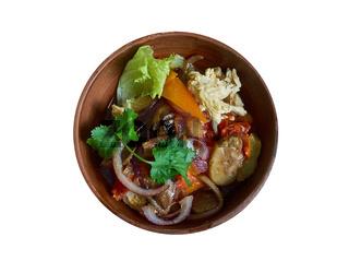 Bulgarian chicken casserole