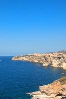 Bonifacio at island Corsica
