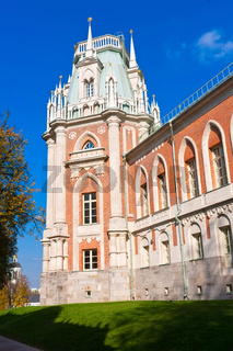 Tsaritsyno in Moscow