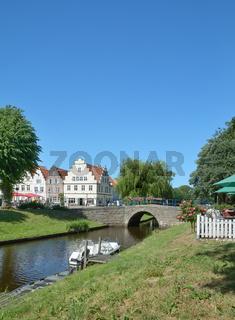 Friedrichstadt in Nordfriesland,Schleswig-Holstein,Deutschland