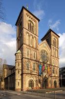 Liebfrauen church, Gelsenkirchen, Ruhr area, North Rhine-Westphalia, Germany, Europe