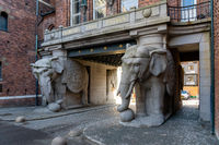 Elephant Gate at Carlsberg Brewery, Copenhagen