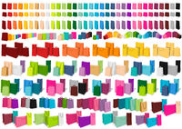 Big Set of Paper Shopping Bags