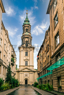 Beautiful view of Sophien Church in Berlin