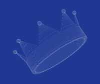 3d model of crown