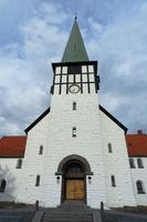 Nikolai church in Ronne, Bornholm