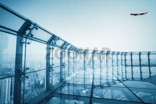 roof glass platform