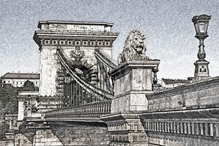 Kettenbrücke Budapest, Ungarn | Chain Bridge, Budapest, Hungary