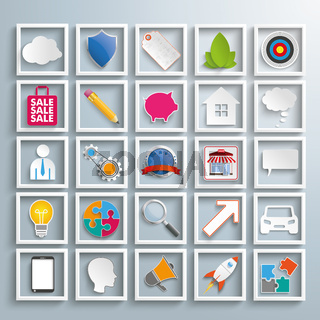 Business Infographic Elements Icons PiAd