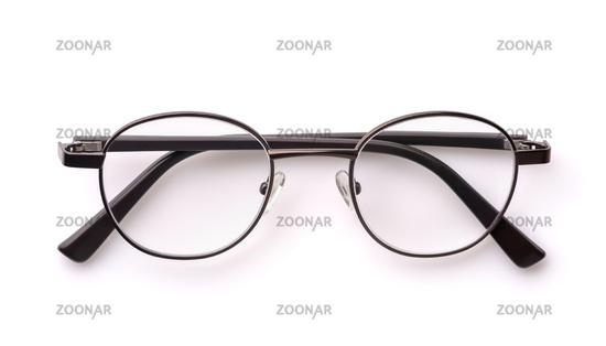 Folded classic eyeglasses