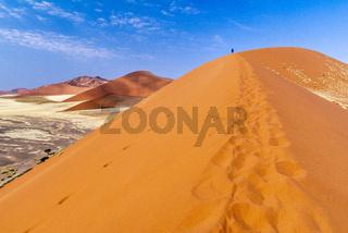 Namibia, Africa. Sossusvlei dunes