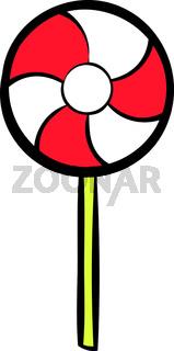Candy icon cartoon