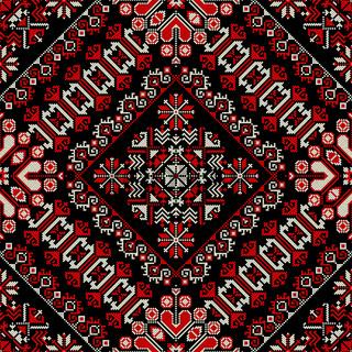 Romanian traditional pattern 179