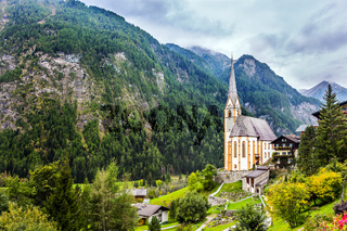 The village in the Alps is Heiligenblut