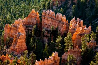 Ring of Orange Rocks