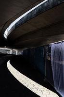 Car bridges at Frankfurt Airport