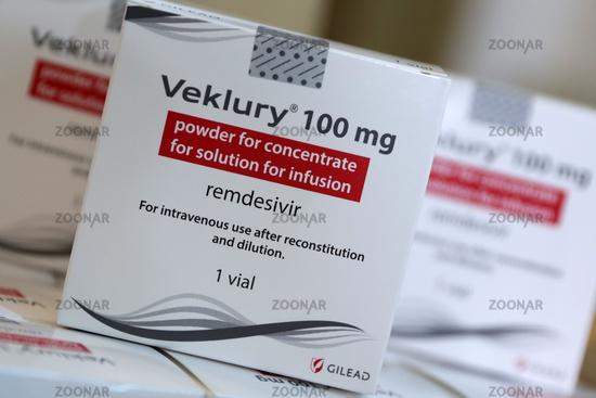 Veklury remdesivir for the treatment of COVID-19
