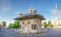 Fountain of Sultan Ahmet in Istanbul, Turkey