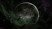 Dark interstellar space. Dark nebula. Elements of this image furnished by NASA