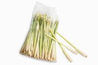 Lemongrass in plastic bag