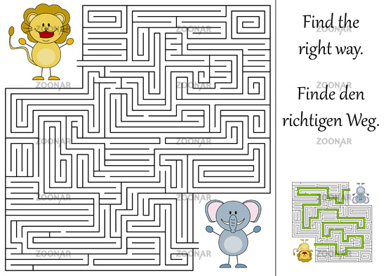 Find the right way
